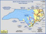Highland north Carolina Map the Royal Colony Of north Carolina the towns and Settlements In
