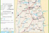Highway Map Of Alabama Alabama Highway Map