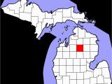 Hillsdale County Michigan Map Crawford County Michigan Wikipedia