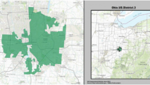 Hiram Ohio Map Ohio S 3rd Congressional District Wikipedia