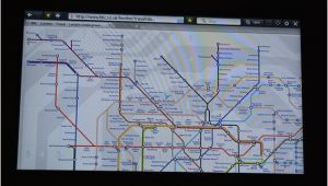 Holiday Inn England Map In Your Room Tv Tube Map Picture Of Hub by Premier Inn