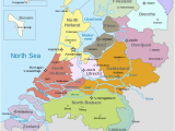 Holland On the Map Of Europe Map Of the Netherlands Including the Special Municipalities