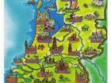 Holland On the Map Of Europe Netherlands tourist Map Google Search Europe In 2019