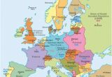 How Did Ww1 Change the Map Of Europe Maps Europe before World War Two 1939 Diercke