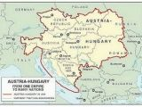 Hungary Map In Europe Austro Hungarian Empire 1914 Hungary Austro Hungarian
