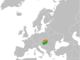 Hungary On Europe Map Hungary Slovakia Relations Wikipedia