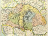 Hungary On Map Of Europe Map Of Central Europe In the 9th Century before Arrival Of