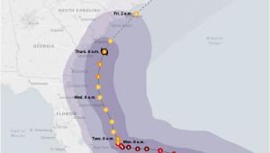 Hurricane Frances Tracking Map Hurricane Dorian Updates Category 3 Storm Rakes the