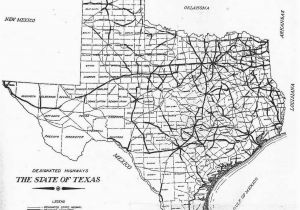Hwy Map Of Texas Map Of Texas Black and White Sitedesignco Net