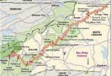 I 95 Map north Carolina north Carolina Scenic Drives Blue Ridge Parkway asheville Here I