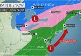 I 95 Map north Carolina Stormy Weather to Lash northeast with Rain Wind and Snow at Late Week