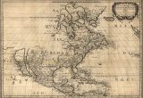 I Drew A Map Of Canada 1650 Map United States Canada Mexico Antique north