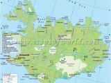 Iceland On A Map Of Europe Iceland Map Iceland Iceland Iceland island World