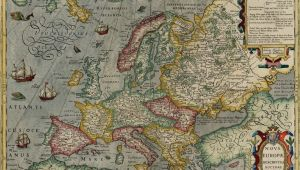 Iceland On A Map Of Europe Map Of Europe by Jodocus Hondius 1630 the Map Shows A