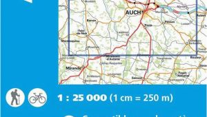 Ign Maps France Ign 1843 Auch Barran Frankreich Wanderkarte 1 25 000