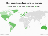 Ilga Europe Map 10 Maps Show How Different Lgbtq Rights are Around the World