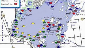 Indian Lake Ohio Map Indian Lake Indian Lake Fishing Map Family Trips Fishing Maps