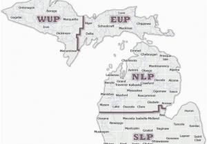 Indian River Michigan Map Map Of Upper Peninsula Of Michigan