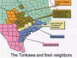 Indian Tribes Of Texas Map Karankawa Indians