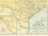 Ingram Texas Map Texas Indian Territory Map Business Ideas 2013