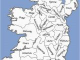 Ireland Map Counties and Cities Counties Of the Republic Of Ireland