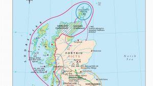 Ireland to Scotland Ferry Map Map Of Viking Scotland 800 1014 Scottish Maps and