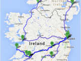 Irelands Map the Ultimate Irish Road Trip Guide How to See Ireland In 12 Days