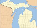 Irish Hills Michigan Map List Of Counties In Michigan Wikipedia