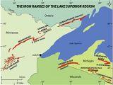 Ironwood Michigan Map Gogebic Range Wikipedia