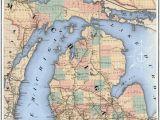 Ironwood Michigan Map Up Of Michigan Map Secretmuseum
