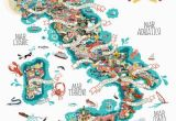 Italy Boot Map Antonie Corbineau Has Created An Illustrated Food Map Depicting