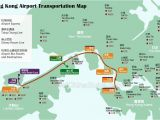 Italy International Airports Map Hong Kong Airport Transfer Map Star Ferry Routes Map