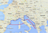Italy to Greece Ferry Map Italy Travelteachtalk