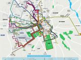 Italy Train System Map Local Bus Routes Lines Stops Public Transport Alsa Network System
