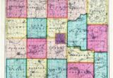 Jackson County Michigan Map Jackson County 1874 Michigan Historical atlas
