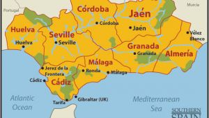 Jerez De La Frontera Spain Map Map Of Spain