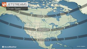 Jet Stream Map Canada What are Jet Streams and How Do they Influence the Weather