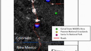 Karval Colorado Map Map Of the Three Field Sites In Colorado and New Mexico with A