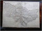 Kent On A Map Of England Details About 1769 Kent andrews Dury Herbert Antique Index County Map original Kitchin London