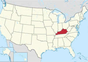 Kentucky and Ohio Map List Of Cities In Kentucky Wikipedia