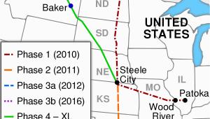 Keystone Pipeline Texas Map Keystone Pipeline Wikipedia
