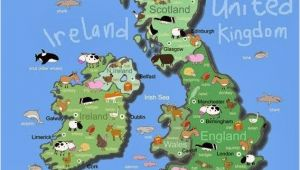 Kids Map Of England British isles Maps Etc In 2019 Maps for Kids Irish Art