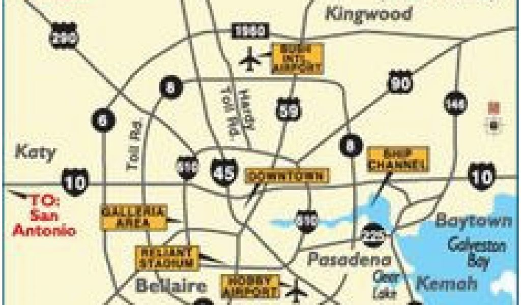 Kingwood Texas Map 25 Best Maps Houston Texas Surrounding ...