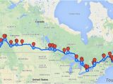 Koa Campgrounds Canada Map the Most Scenic Route to Travel Across Canada Canada Rv Trip In