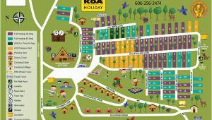 Koa Map California Mt Vernon Kentucky Campground Renfro Valley Koa
