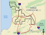 La Jolla California Map Ucsd Camp Matthews Range Complex No 1
