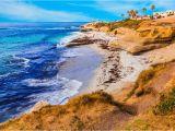 La Jolla California Map Walking tour Of La Jolla California
