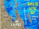 La Paz Baja California Map Baja California Peninsula Map Free Printable La Paz Baja California