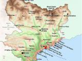 La Provence France Map southern France Map France France Map France Travel Houses In