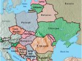 Labeled Map Of Eastern Europe Maps Of Eastern European Countries